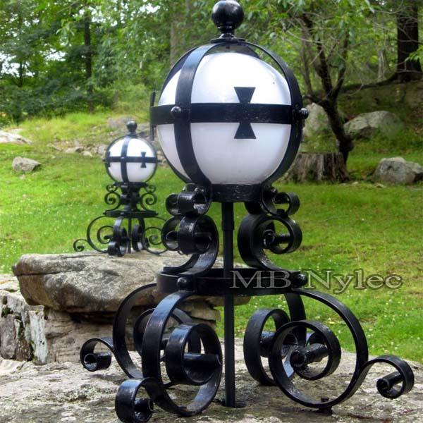 Kuta lampa w stylu średniowiecznym, rycerskim, celtyckim ogd68