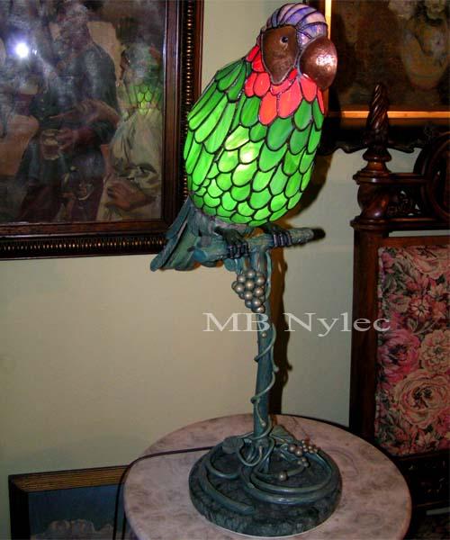 lampa witrażowa ww8. Lampa do oglądnięcia w siedzibie firmy.